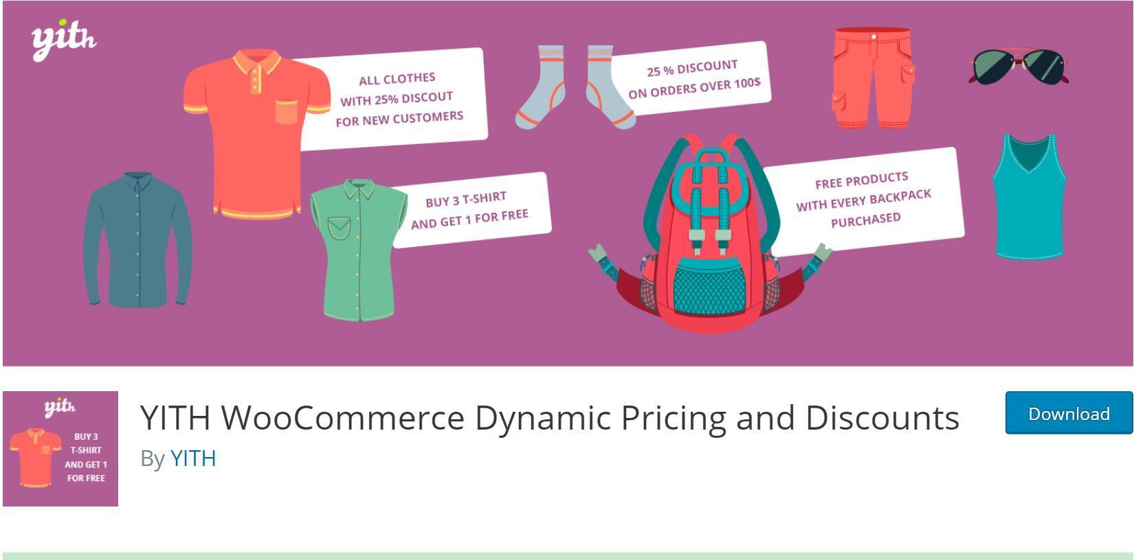 wp电商动态定价和折扣高级版YITH WooCommerce Dynamic Pricing and Discounts Premium v1.6.5