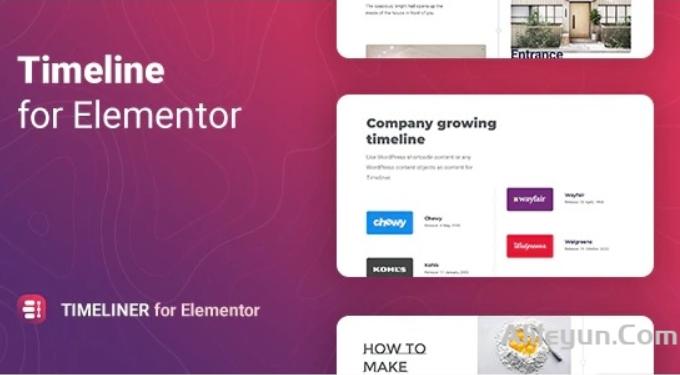 Timeliner v1.0.0-Elementor 时间表插件